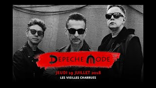 Vieilles Charrues 2018 : Depeche Mode en ouverture du festival