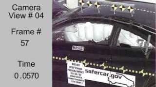 Crash Test 2008 - 20** Toyota Camry Solara Coupe (Full Frontal Impact) NHTSA