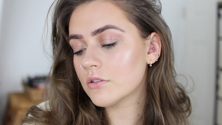 Glossy skin 'No makeup, makeup' tutorial | EmmasRectangle