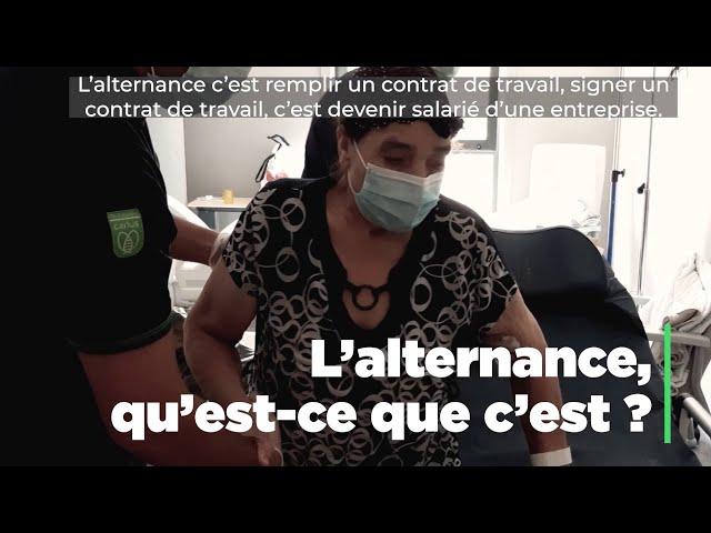 L'alternance qu'est-ce que c'est ? Laurent Facon directeur IFA Croix Rouge France nous dit tout