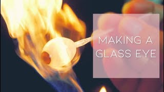 Watch our new partner make a glass eye... | John Pacey-Lowrie Ltd.