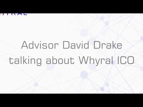 Advisor David Drake talks about Whyral