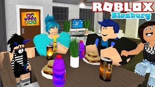 CRAZY ROBLOX BLOXBURG FAMILY ROLEPLAY! FUNNY MOMENTS! WITH MOUNTAIN HOUSE! WPFG LYRONYX & HUNTRYS