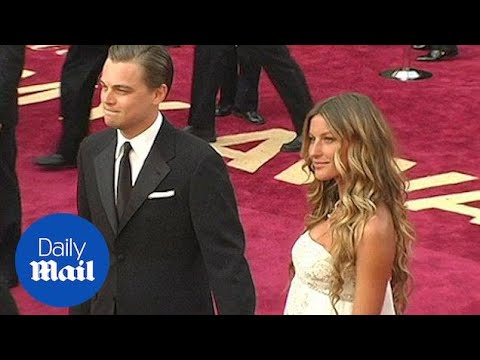 DiCaprio and Giselle at the 2005 Annual Academy Awards - Daily Mail