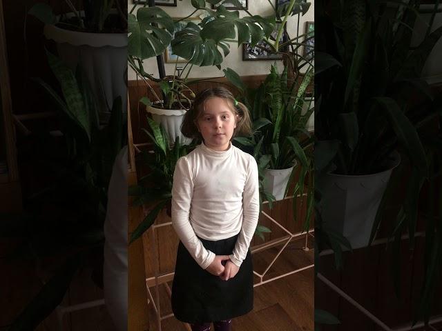 Изображение предпросмотра прочтения – АннаКотовская читает произведение «В классе» М.И.Цветаевой