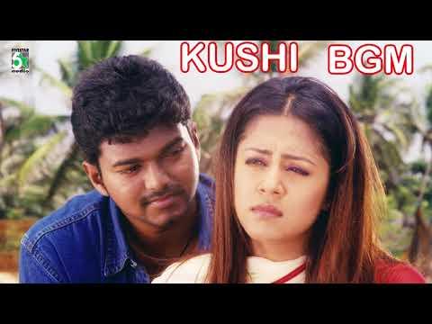 Vijay & Jyothika Super Hit Best BGM | Kushi