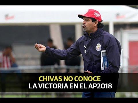Chivas no levanta en el Apertura 2018
