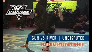 Gun vs River - Półfinał 1vs1 na Undisputed X GreenPanda 2018