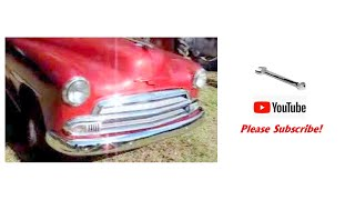 1951 Chevy Styleline Deluxe Classic Automobile