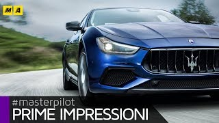 Maserati Ghibli 2018 | fari full led e guida TOP per GranSport e GranLusso [ENGLISH SUB]