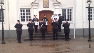 Flash mop - Marinehjemmeværnets Tamburkorps, Randers