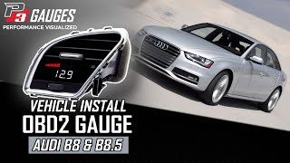 P3 Cars - Audi B8 Install Guide - Digital Interface - A4 S4 A5 S5