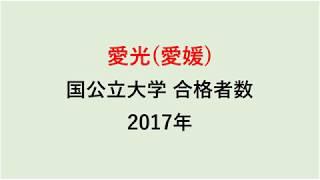 愛光高校 大学合格者数 2017~2014年【グラフでわかる】