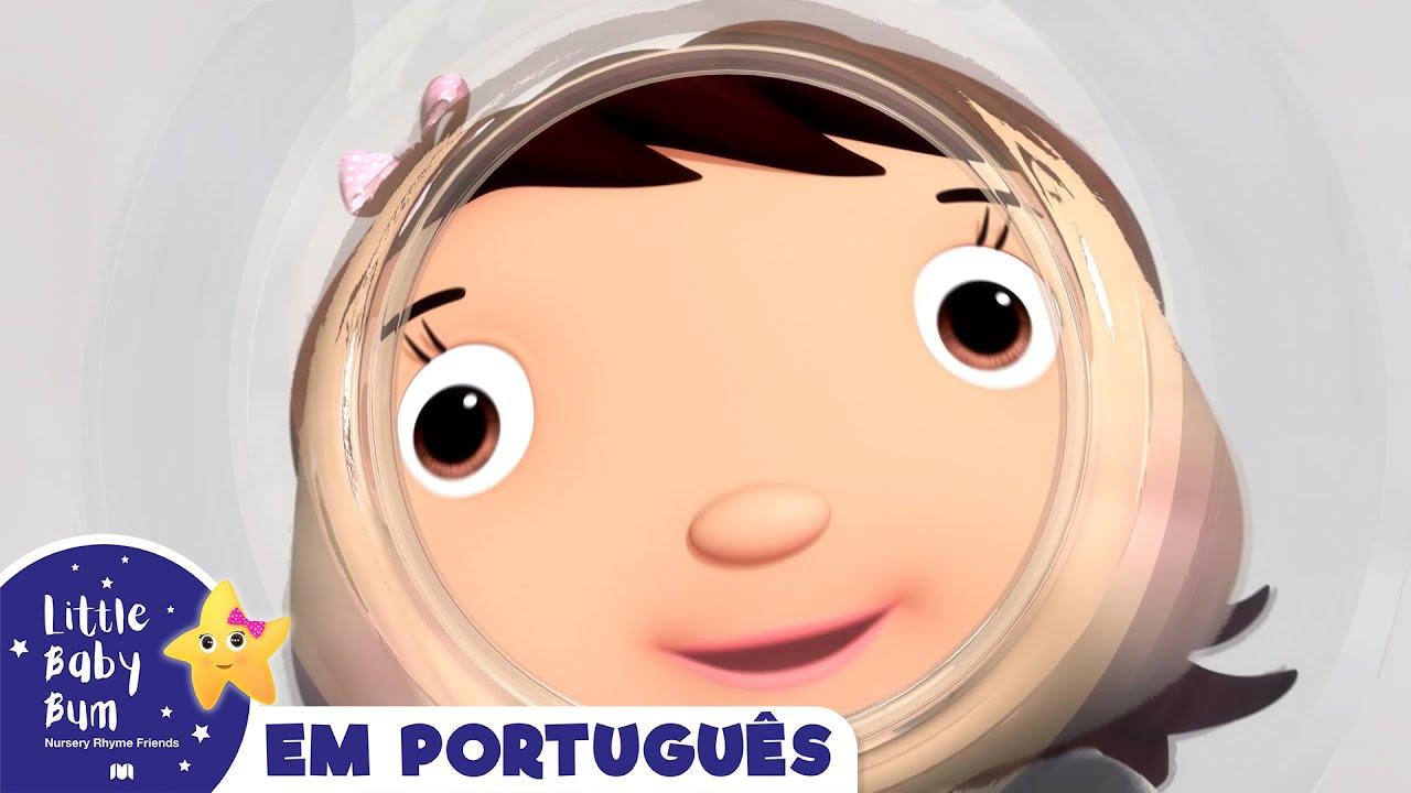 Contando de dois em dois    Canções para crianças   Little Baby Bum em Português