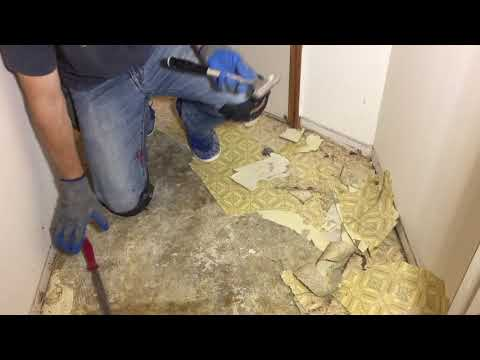 How To Remove Old Glue Down Vinyl Flooring With Ease