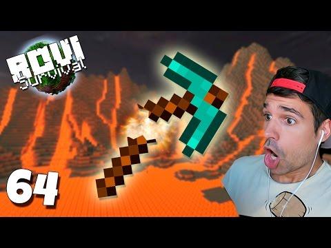 STACK DE DIAMANTES A LA LAVA | Rovi Survival Minecraft | Episodio 64