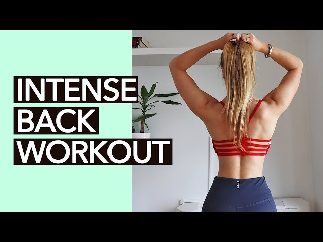 Back Workout for Women (No Equipment)