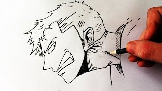 Como Desenhar Roronoa Zoro [One Piece] - (How to Draw Zoro) - ONE PIECE #1