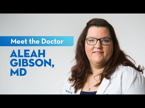 Meet Dr. Aleah Gibson — Family Medicine Physician At St. Elizabeth
