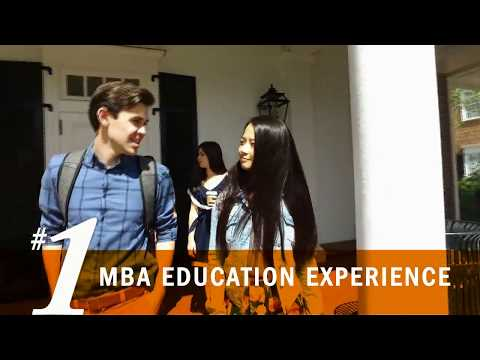 #1 MBA Education Experience - Darden School of Business