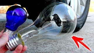 EXPERIMENT: CAR VS Giant Lamp