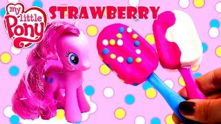 My Little Pony Pinkie Pie Play Doh Ice Cream Make Play Dough Popsicles Mlp Toys Review