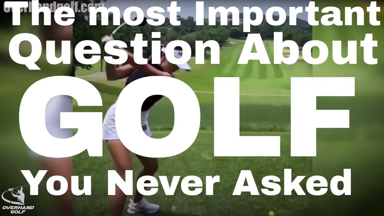 Golf's Ultimate Question ...