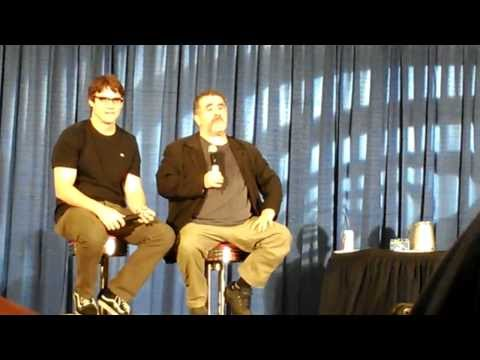 Saul Rubinek and Eddie McClintock Saturday Panel Shore Leave 2013
