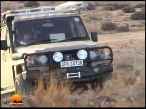 Driving sand tracks, salt pans, Isuzu KB and more. 4WD1, Ep9