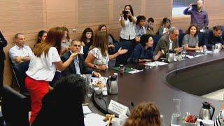 ועדה לקידום מעמד הנשים ב עזה כנסת עימות מירב בן ארי עם חנין זועבי