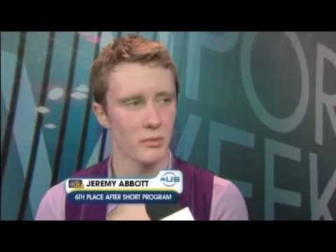 Jeremy Abbott 2010 Worlds SP commentary by Johnny Weir