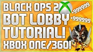 Black Ops 2 Solo XP Lobby/Bot Lobby Easy Tutorial Working On Xbox One! (BO2 XP Lobby Tutorial 2017)