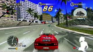 OutRun Online Arcade Xbox Live Gameplay - Drift More