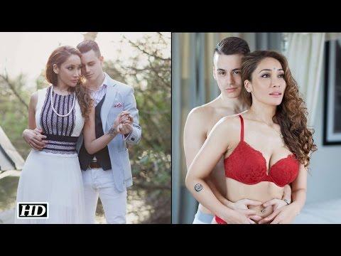Sofia Hayat's semi nude photos with fiance