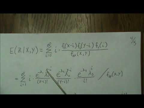 Part 2d - EM Algorithm - Bivariate Poisson Distribution