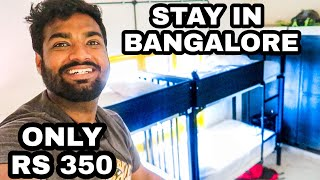 How to Stay in Bangalore in Rs 350 Per Day | Travelling Paaji