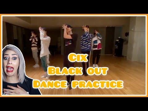CIX (씨아이엑스) - 'Black Out' Dance Practice REACTION