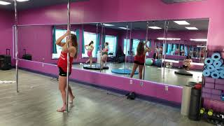 Butterfly Pole Dance Move