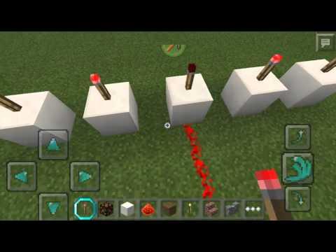 Trik Minecraft PE || Bikin Lampu Kerlap Kerlip
