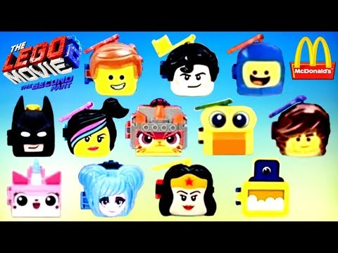 Mcdonalds Toy Schedule 2019 2019 McDONALD'S THE LEGO MOVIE 2 HAPPY MEAL TOYS FULL WORLD SET 12
