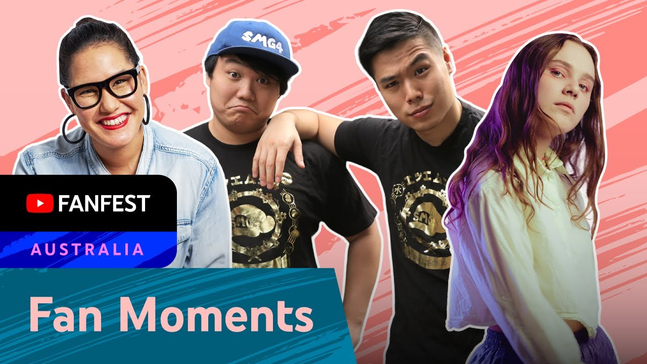 YTFF Meet & Greet Highlights ft. Marion Grasby, SMG4 & Kevin, Sycco and more