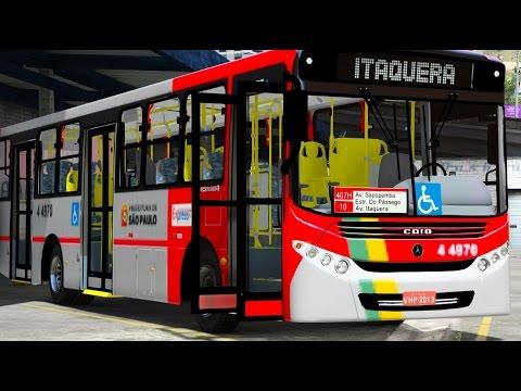 GTA V Mods - VIDA REAL: Motorista de ônibus #7 / ônibus São Paulo