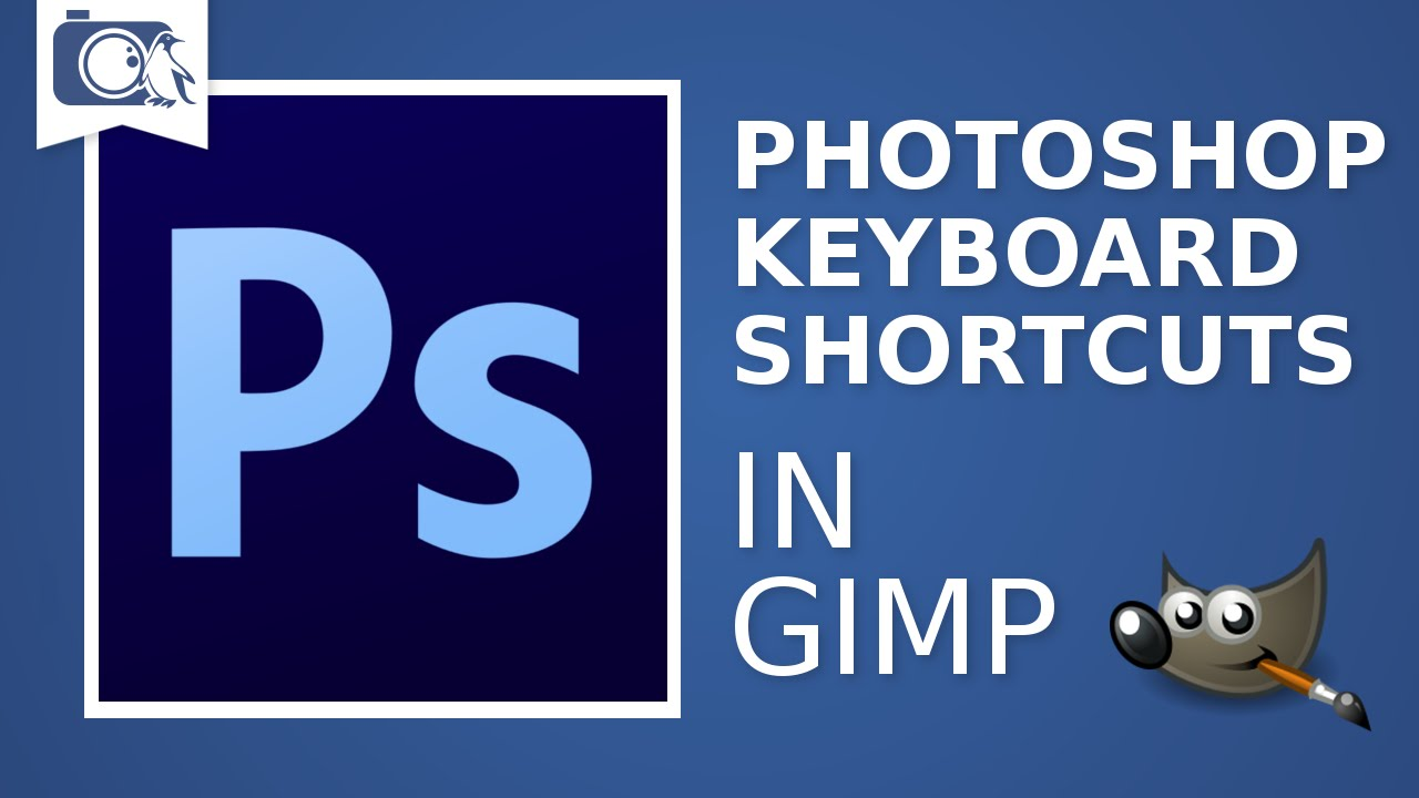 How to install Photoshop keyboard shortcuts in GIMP - DIY