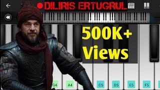 Download song Dirilis Ertugrul Music Tutorial - Mobile Piano Cover