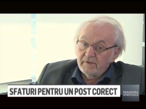 RS - Dr. Pavel Chirila. Postul si sanatatea