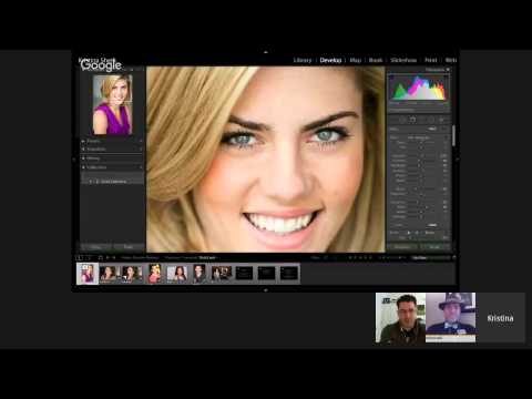 Lightroom Hangout: Powerful Portrait Retouching with Kristina Sherk