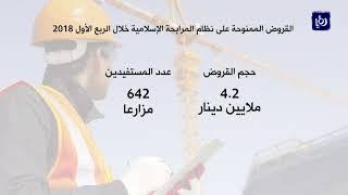 13 مليون دينار حجم القروض من مؤسسة الإقراض الزراعي في الربع الأول - (18-4-2018)
