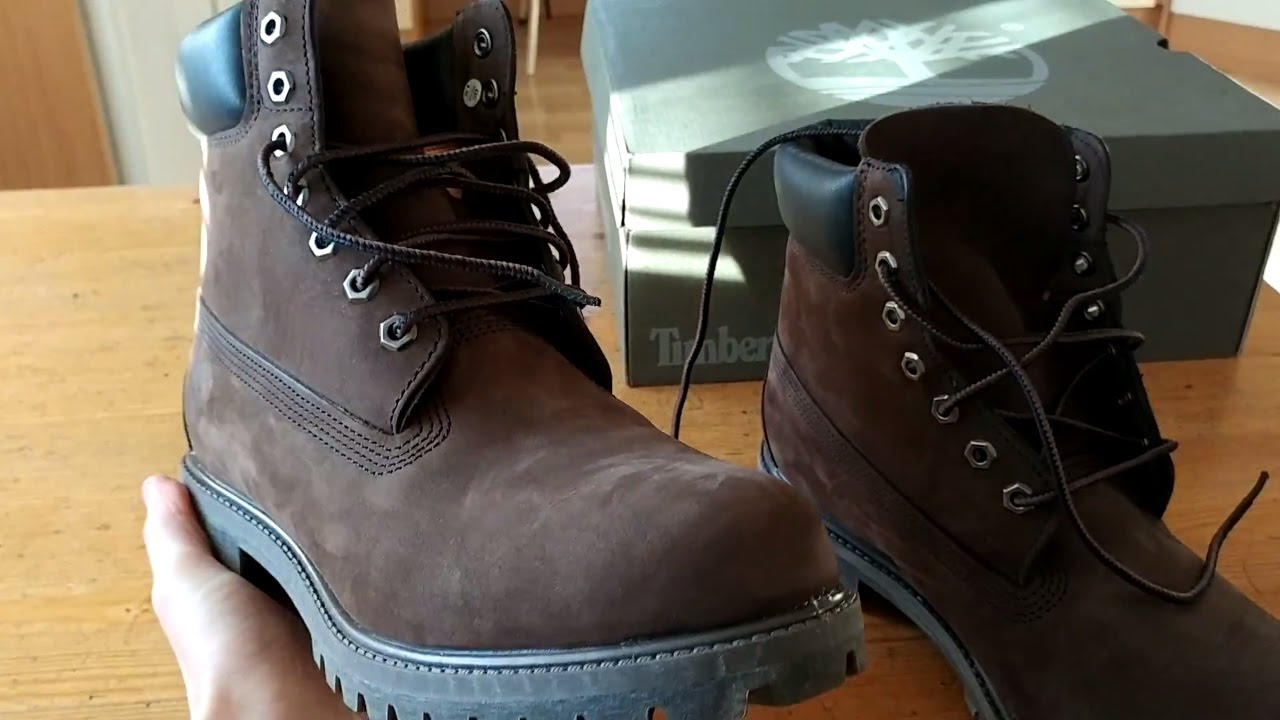 9e1c06bf05ff7 Timberland 6 Inch Premium Waterproof Boots [UNBOXING] - YouTube