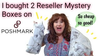Sourcing Inventory on Poshmark For Reselling ~ THRIFT HAUL FOR RESALE  ~ Mystery Box Unboxing
