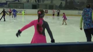 Ёлочка назад. Фигурное катание дети 4 года #Элементы фигурного катания для начинающих